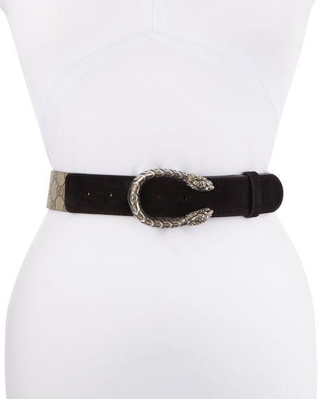 Dionysus Supreme Gucci Belts