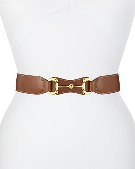 Horsebit Gucci belts